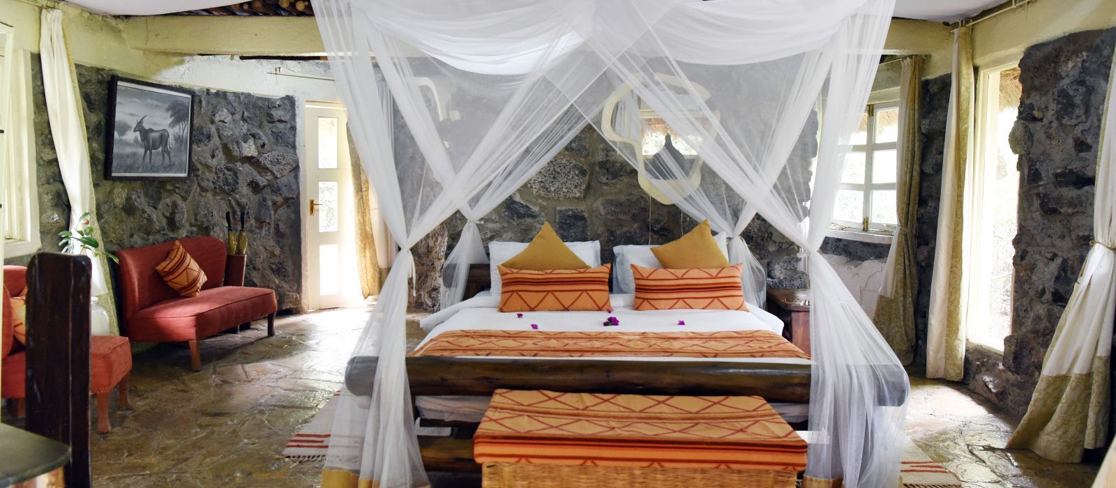 Hotel Mbweha Safari Camp Kenia