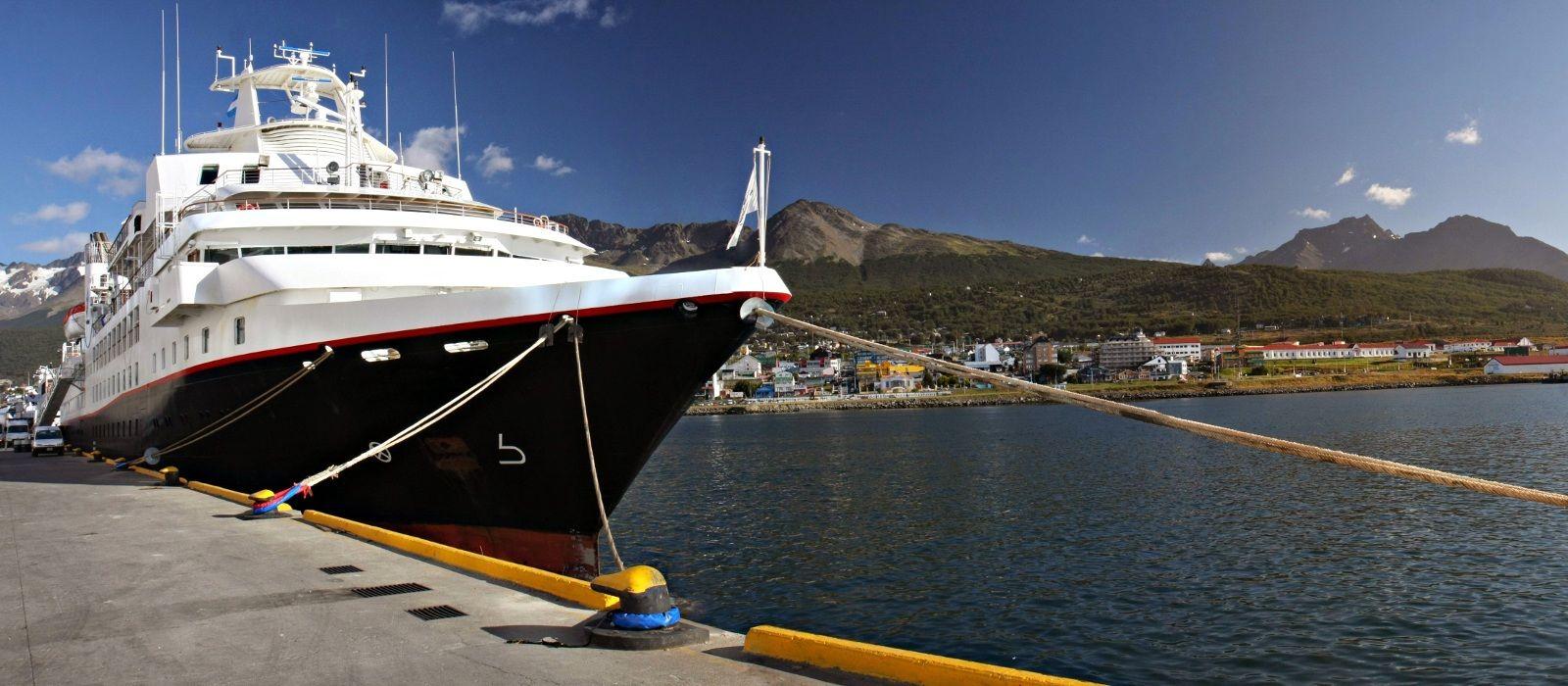 Reiseziel Ushuaia Kreuzfahrt Argentinien