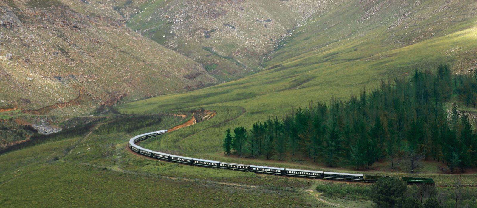 Südafrika, Simbabwe & Botswana: Magische Wasserwelten & Abenteuer Rovos Rail Urlaub 1