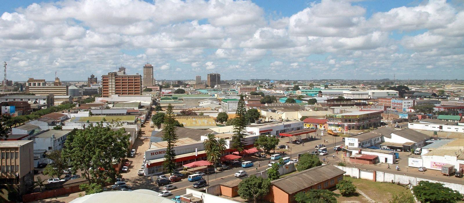 Destination Lusaka Zambia