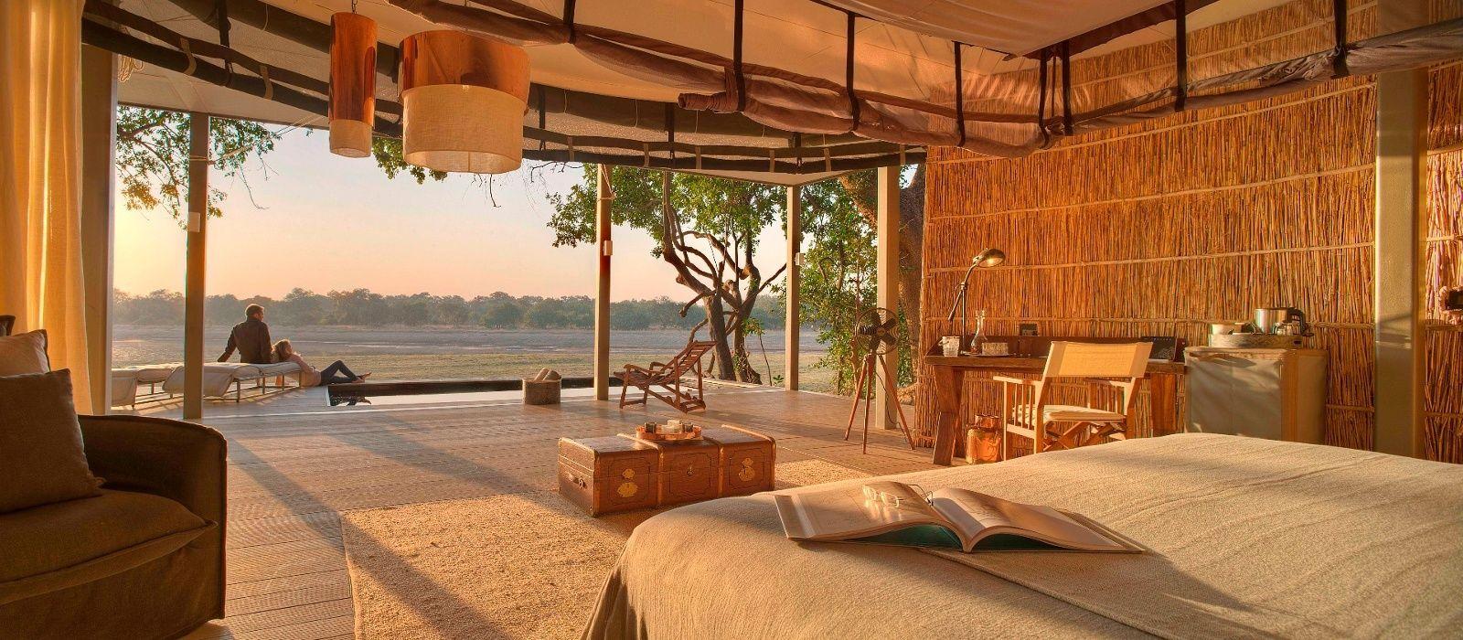 Hotel Chinzombo Lodge Sambia
