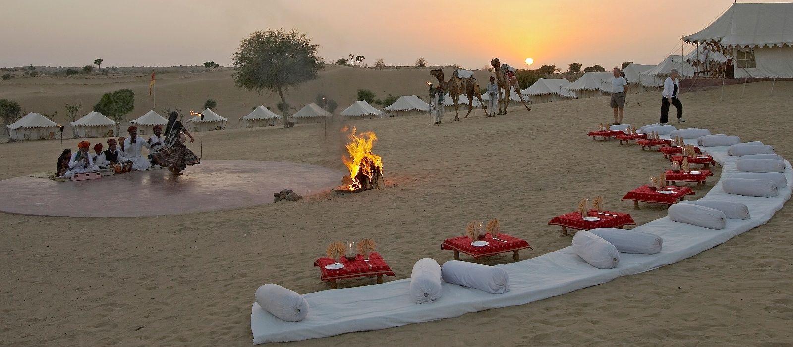 Rajasthan Rundreise: Geheimnisvolle Wüste, Paläste & Seen Urlaub 2