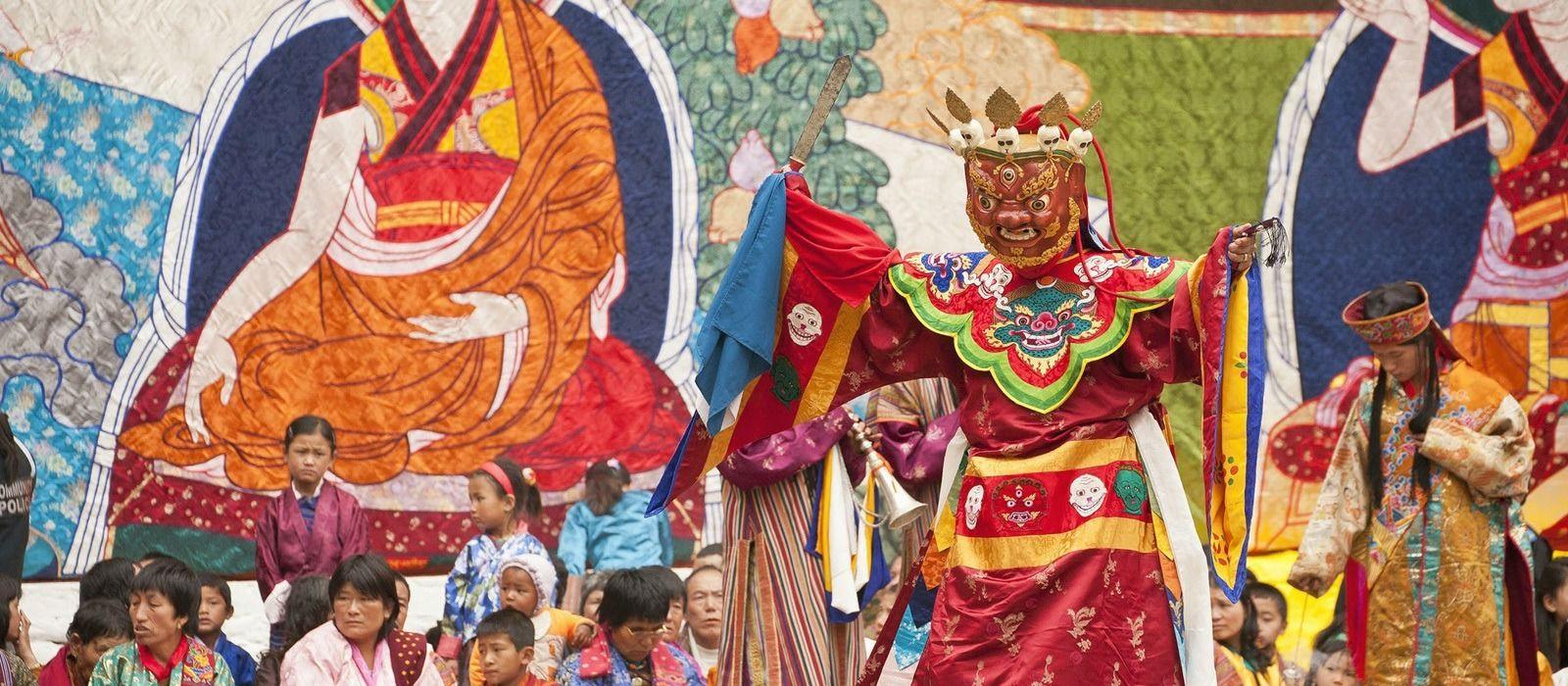Bhutan: Auf den Spuren des Glücks Urlaub 2