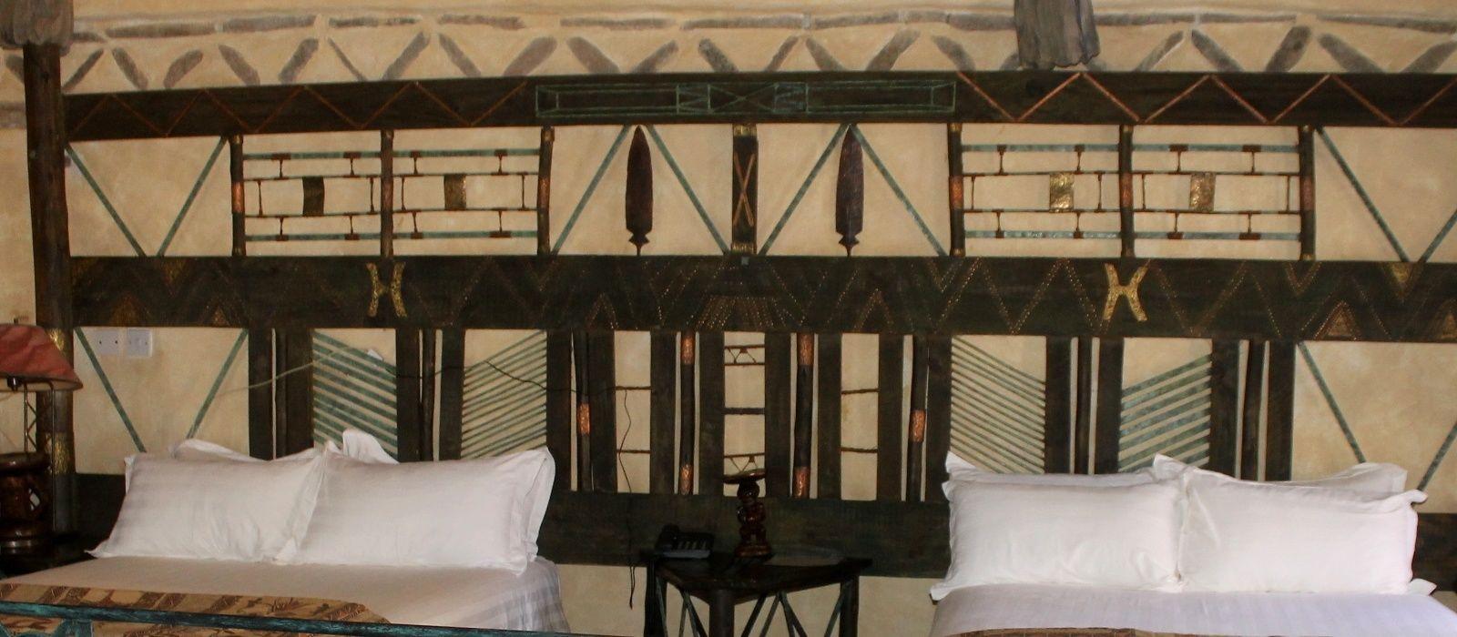 Hotel Lodge at the Ancient City Simbabwe