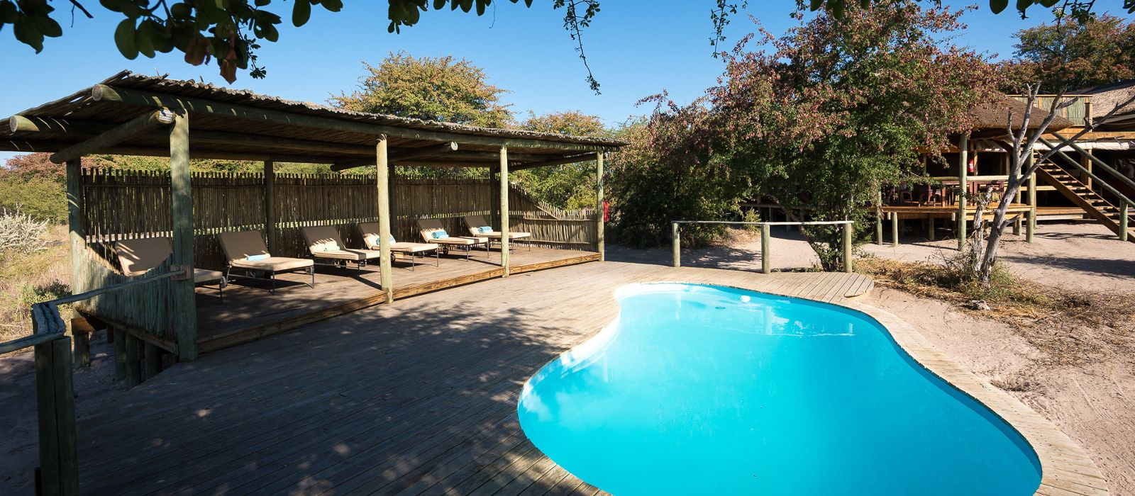 Hotel Kalahari Plains Camp Botswana