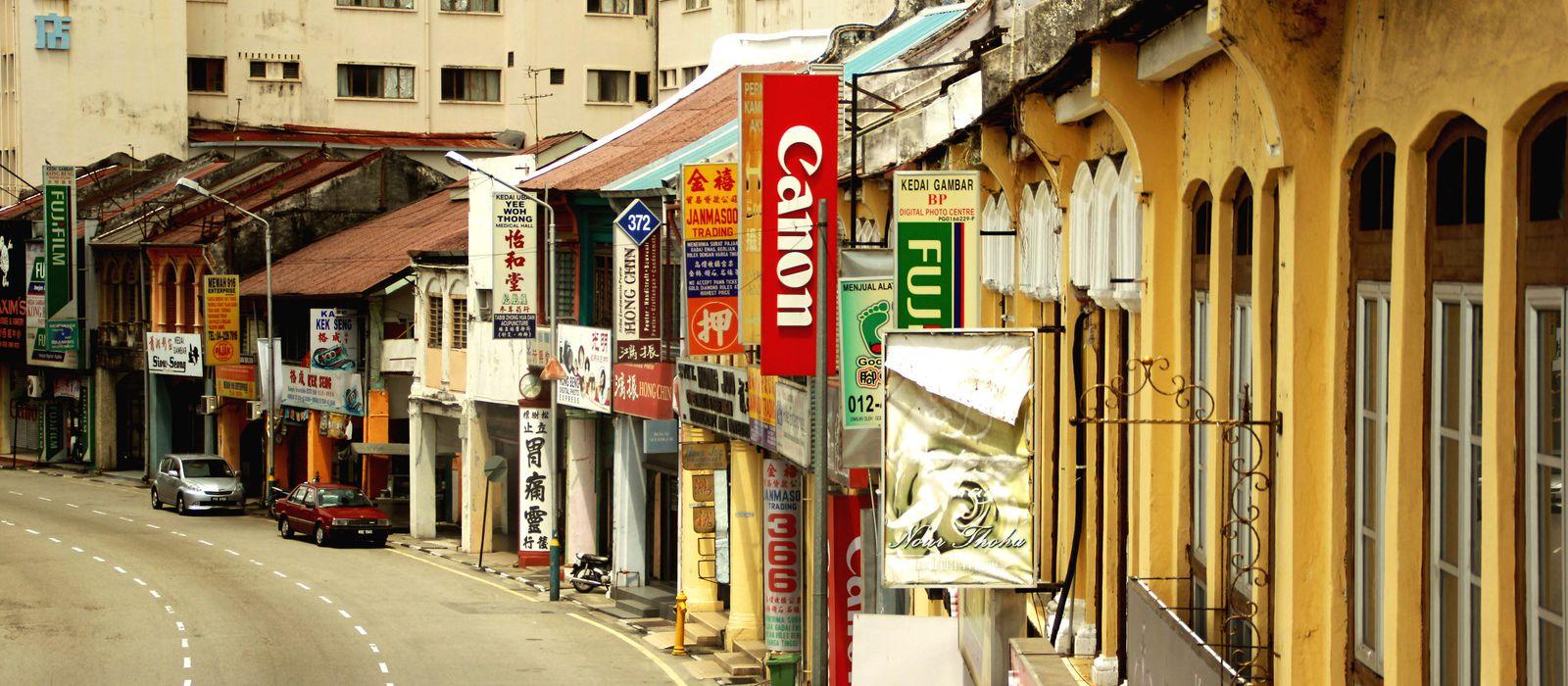 Reiseziel Penang Malaysia