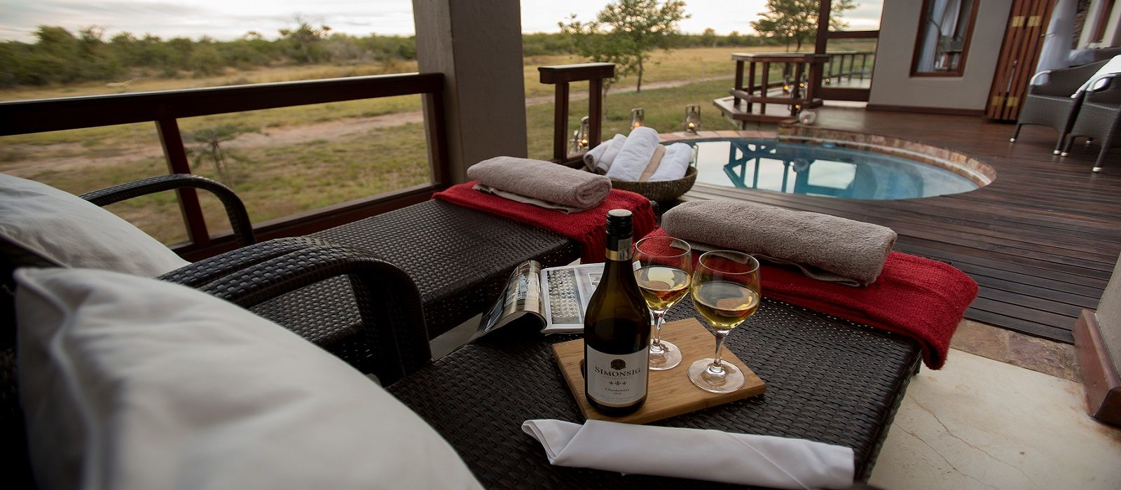 Hotel Jamala Madikwe Royal Safari Lodge South Africa