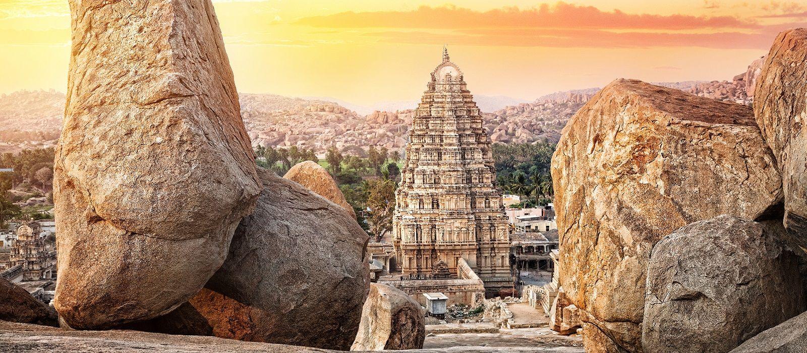 Südindiens Erbe und Strand Urlaub 1