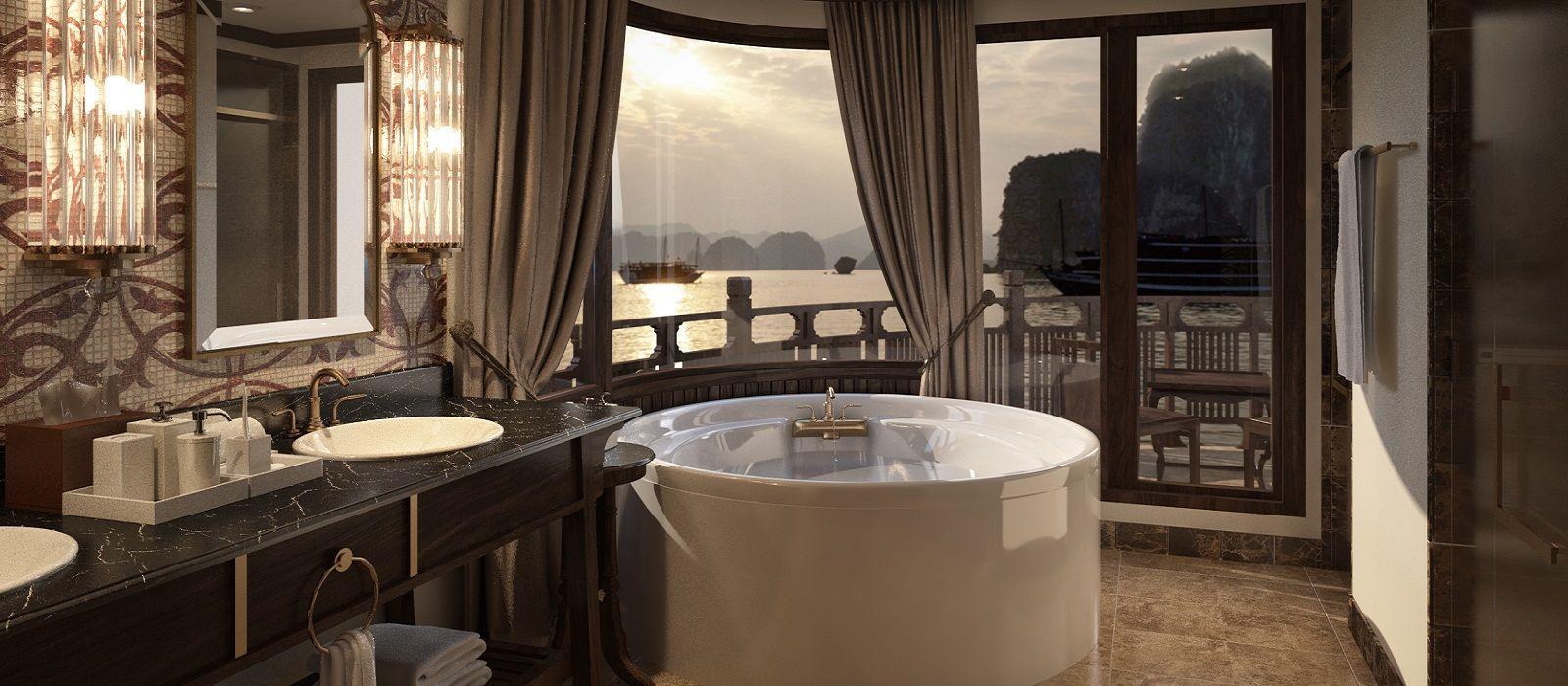 Hotel Ginger Cruise Halong-Bucht Vietnam