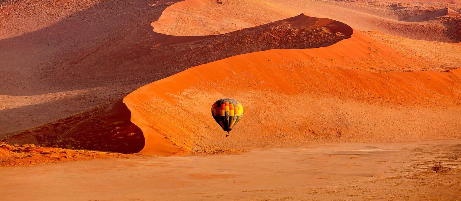 Namibias schönste Landschaften von oben Urlaub 2