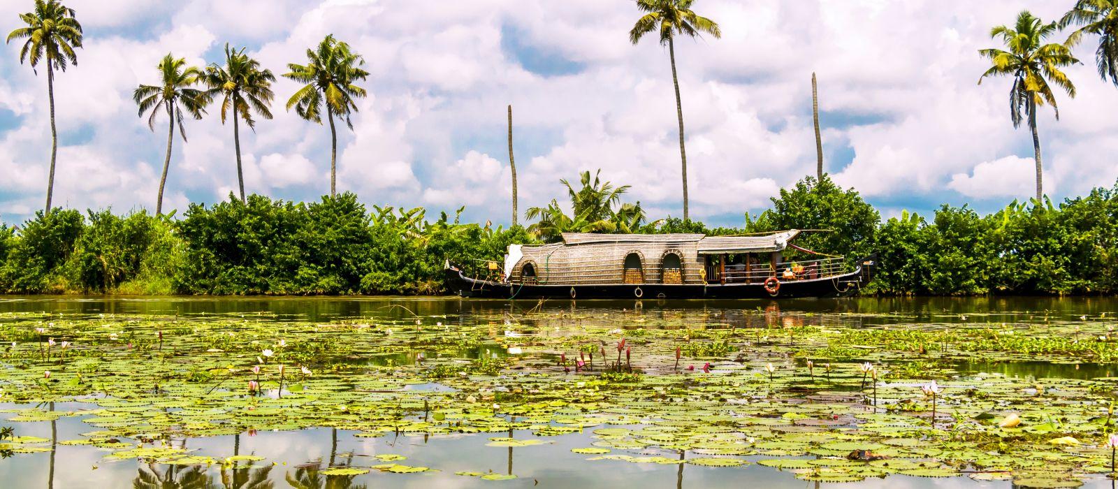 Südindiens Erbe, Landschaft & Strände Urlaub 1