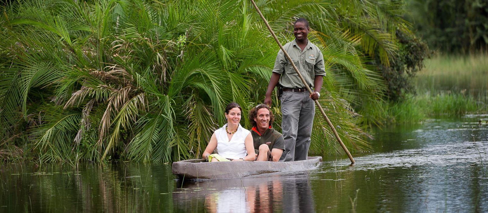 Hoch über Botswana: Safari-Angebot Urlaub 4
