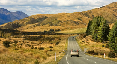 Example private tour: New Zealand Overland: From South to North Island