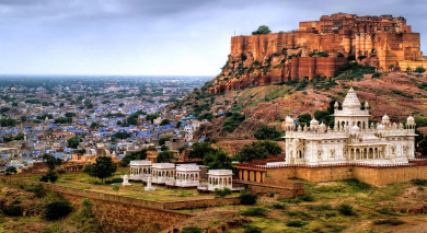 Example private tour: India: Highlights of the North