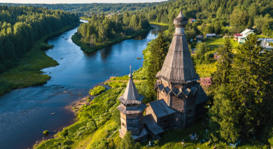 Empfohlene Individualreise, Rundreise: Russland: St. Petersburg & Karelien