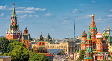 Example private tour: Russia: Imperial Heritage
