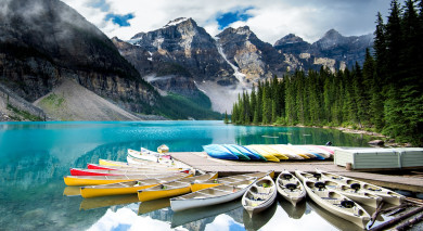 Example private tour: Canada Highlights Tour with Rocky Mountaineer