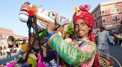 Empfohlene Individualreise, Rundreise: Rundreise: Prächtiges Rajasthan & entspanntes Kerala