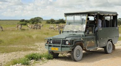 Example private tour: Classic Namibia and Botswana Overland