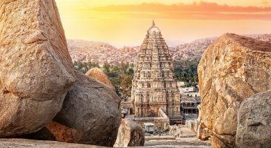 Empfohlene Individualreise, Rundreise: Südindiens Erbe und Strand
