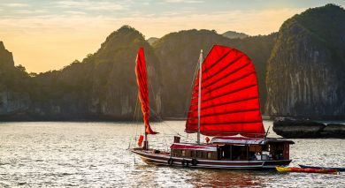 Example private tour: Luxury Honeymooners Paradise, Vietnam