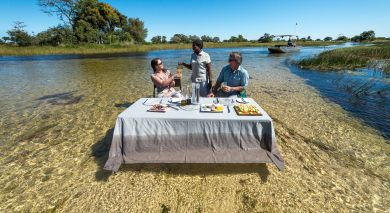 Empfohlene Individualreise, Rundreise: Hoch über Botswana: Safari-Angebot