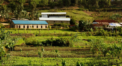 Lake Kivu (Kibuye) in Ruanda