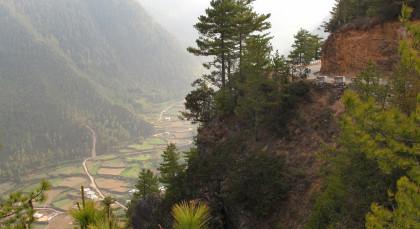 Gangtey in Bhutan