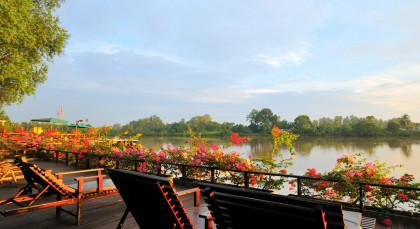 Abai, Kinabatangan Fluss in Malaysia
