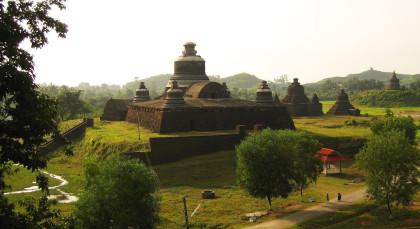 Mrauk U in Myanmar