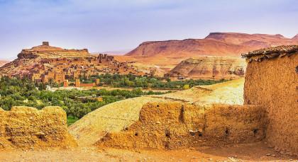 Ouarzazate in Marokko