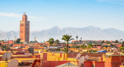 Destination Marrakech in Morocco
