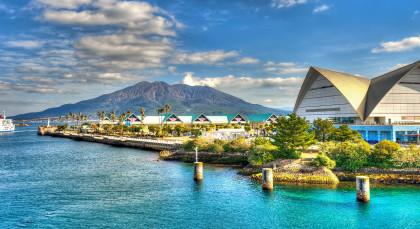 Kagoshima in Japan