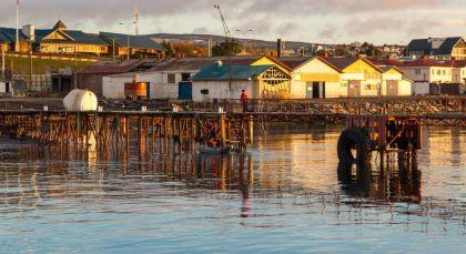 Punta Arenas in Chile