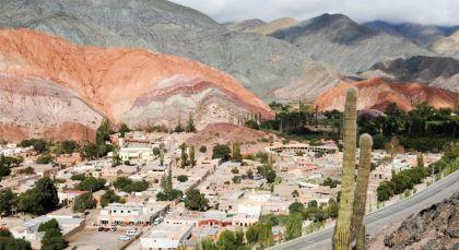 Reiseziel Purmamarca in Argentinien