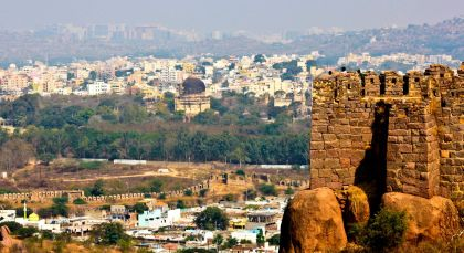 Destination Hyderabad in South India