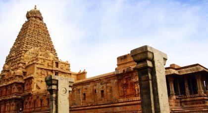 Reiseziel Thanjavur in Südindien