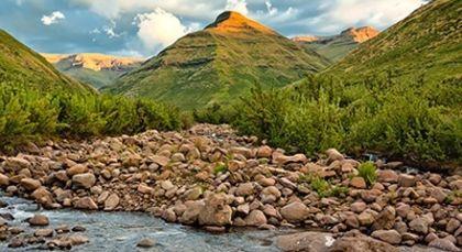 Lesotho in Afrika