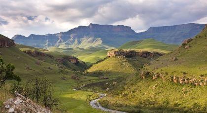 Zentral und Nördliche Drakensberge in Südafrika