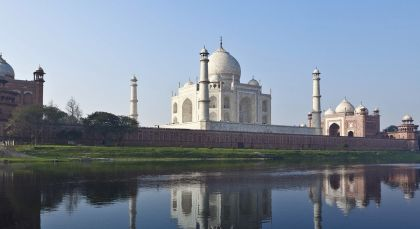 Destination Agra in North India