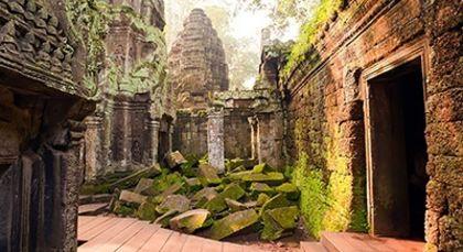 Kambodscha in Asien