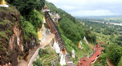 Reiseziel Pindaya in Myanmar