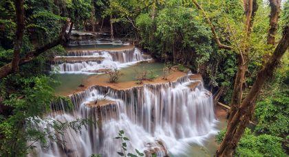 Kanchanaburi in Thailand