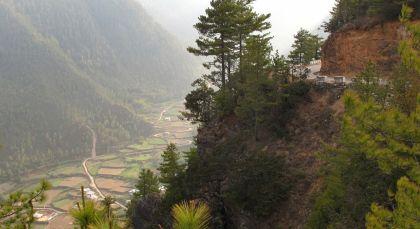 Reiseziel Gangtey in Bhutan