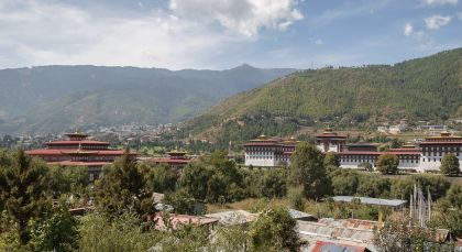 Thimphu in Bhutan