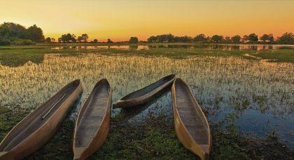 Reiseziel Okavango Delta in Botswana