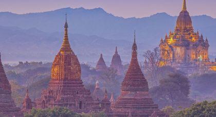 Reiseziel Hpa An in Myanmar