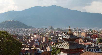 Destination Kathmandu in Nepal