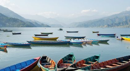 Destination Pokhara in Nepal