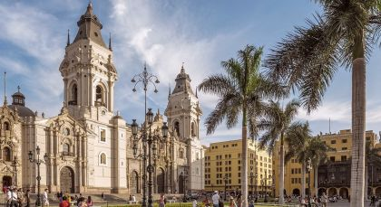 Destination Lima in Peru